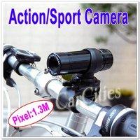 GOOD  Quality Action Camera,sport/bike/motorcycle/rock climbing camera,1.3M CMOS sensor,Resolution 640*480,free shipping