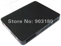 AMD APU mini nettop Fusion E1800 Dual Core 1.7GHz 1MB cachesL2 WIFI HDMI 3D game Blu-ray DDR3 2G/32G SSD MINI PC ,free shipping