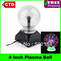 Free Shipping AC Powered 4 inch Plasma Ball Light