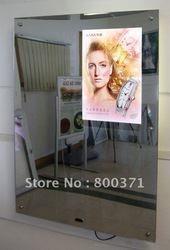 Excellent quality Acrylic Magic Mirror led lightbox/panel,(3pcs/lot)mirror light box(China (Mainland))
