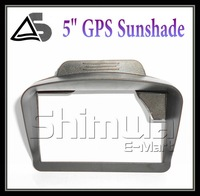 FREE SHIPPING! universal sunshade sunshine shield for 5 inch car GPS navigation