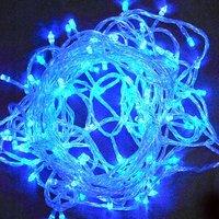 order 100% New Led Christmas Tree Wedding Party Blue LED Light 10 Meters LED Lamp