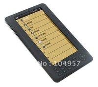 7 inch TTS 8GB Ebook Reader e-book  mp3/Mp4 player