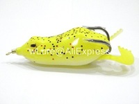 Fishing Lure Topwater Frog Hollow Body Soft Bait Fresh Water Deep Water Bass Walleye Crappie Minnow Fishing Tackle FG8F2