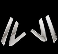 FREE SHIPPING CHEVROLET CRUZE stainless steel triangle article decoration before