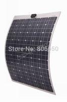 80w mono Flexible solar panel, battery charger, waterproof semi-flexible,free shipping