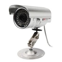 Free shipping  36 LED Color Night Vision Indoor/Outdoor security 1/3 CCD IR CCTV Camera PAL/NTSC