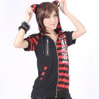 Visual KEI Punk Cross Gothic t-shirt top coat cosplay 71211