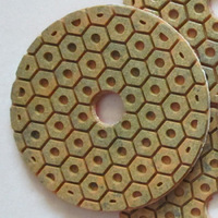 "metal granite polishing pad with high quality low price to all worldwide(4""/100*3.0mm)"