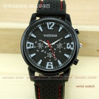 MINGEN SHOP - Fashion Military Pilot Aviator Army Style Outdoor Sport watch Quartz watch Black Dial Q0324