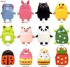 10x cartoon animal children school bag baby backpack kid's leather schoolbag kindergarten bag satchel free shipping