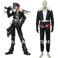Free Shipping Final Fantasy VIII Squall Cosplay Costume