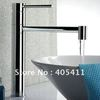 $20 off per $300 order! Free shipping!100% brass single handle bathroom sink faucet.Hot and Cool Rotating Basin Mixer tap.