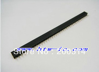 10pcs, Pitch 2mm 40 Pin Female Single Row Straight Pin Header Strip  &Free shipping