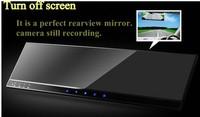 "Car DVR with 4.3"" TFT Monitor mirror + Camera inside rotary"