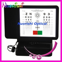 W3045  double-side reading led vision chart near visual acuity chart illuminated vision chart