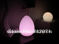 LED Egg table lamp/Christmas decorative louminous egg shape lamp/LED egg mood light