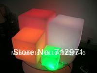 30cm LED garden cube chair / Christmas decorative cube desk lamp