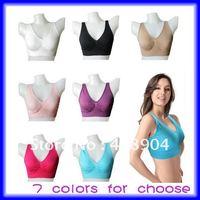7 colors AHH BRA colorful seamless bra rose/pink/purple/blue/beige/white/black free choice 1000pcs/lot