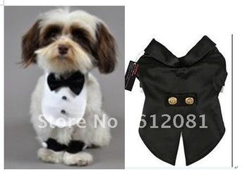 Free shipping,Custom-made pet clothings,custom dog tuxedo,custom dog shirt,dog collar,1 pc for sell