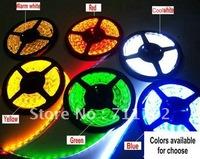 Free Shipping IP65 Silicone Tube DC12V 5050 Waterproof Flexible Strip 1m 30 led 5m 150 led Waterproof LED Tape