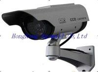 Solar Gun Type Monitoring Simulation Monitors Simulation Surveillance Cameras Simulation Monitoring Camera Fake Video CameraA016