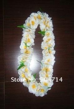 New fashion hawaii flower leis/2 color petals/hawaiian wreath/Welcome etiquette hawaiian garland/luau flowers/hawaii beach skirt