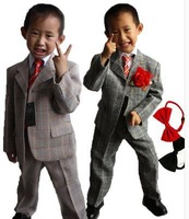 free shipping !The new 2012 boys suit pure cotton leisure suit small suit three-piece suit