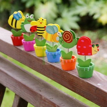 Assorted Garden Insects Placecard Holders (Set of 6) For Wedding Decoration Favors Party Stuff Supplies Free Shipping