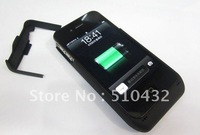 3000mAh Charger Case External Battery for iphone 4s 4g,200pcs/lot,All country DHL free shipping,A0076