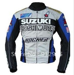 road Motorcycle Jackets SUZUKI Racing Jacket CE certification(China (Mainland))