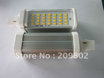 G24 5630 28 leds 8W corn light LED ceiling light aluminum 2-year warrantywarm white/cool whitefree shipping 4PCS/LOT