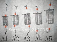 Carp fishing bait cage stainless bait cage mix 10 pcs