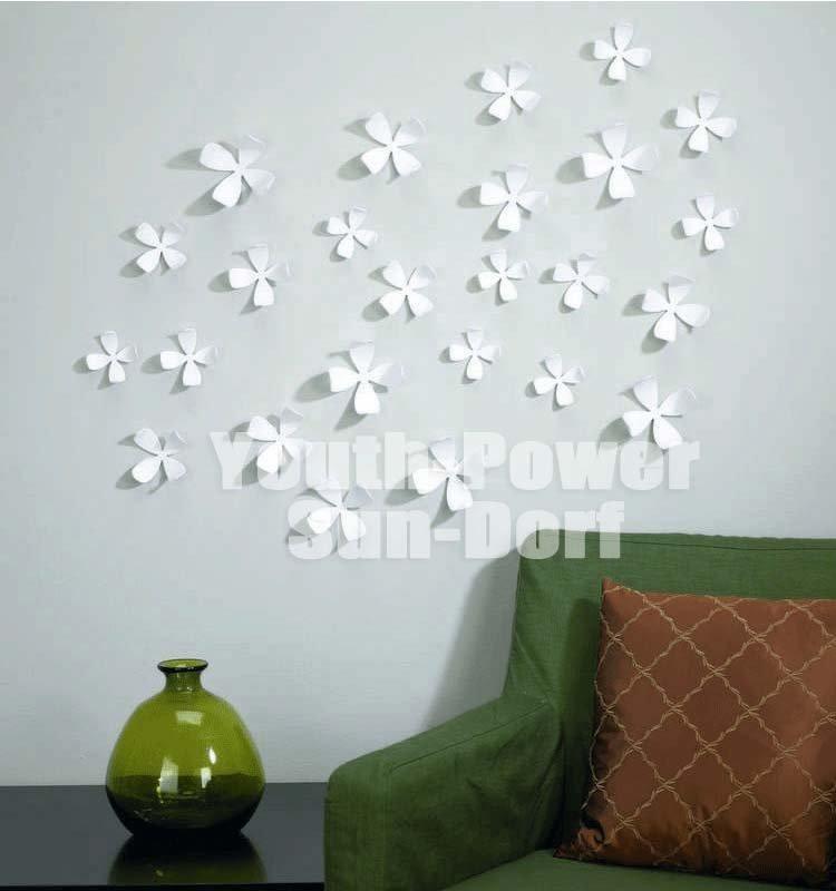 3d Wall Decor Flower Garden : Pcs d wall sticker flower home decor decoration