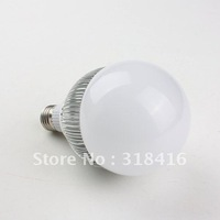 Mail Free + 1PC QP53 E27 10W 10LED 950Lumens 6000K  85-265V Globe Lamp Bulb Warm White/White High Power Light Bulb