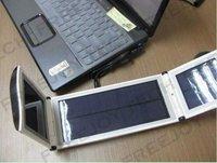 HOT!Free Shipping Foldable Laptop Solar Charger+12000mAh Mobile Power Bank for Notebooks,eBooks,Tablet PCs,Laptops&Mobile Phones