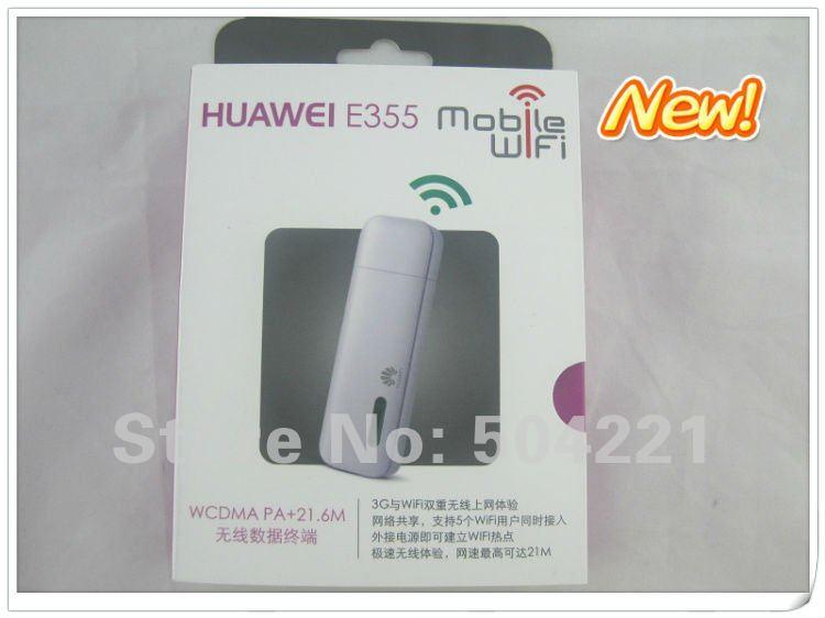 5 Piece Free sample HuaWei E355 3G 21Mbps wireless modem wireless mobile WIFI hotspot unlocked ...
