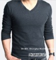 Free Shipping Men&#39;s Bottoming shirt,Man knitting sweater, leisure choker C13095LI  V-collar BACKING shirt, Coat,Cloth wholesale