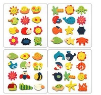 Free Shipping, magnetic refrigerator magnets creative creative home accessories animal stickers (120PCS)