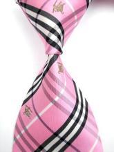 New arrival!!!! Grid Silk beautiful  Woven Man Tie Necktie 0020(China (Mainland))
