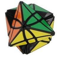 Lanlan Flower Rex Puzzle Magic Cube Black Speed Cube    M012