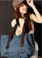 Lady Girl Fashion leisure Canvas bag woman casual Canvas handbag shoulder bag