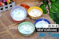 Exported Japan Jingdezhen Japanese Tableware Korean Plutus Cat Colorful Bowl Ceramic Bowl ceramic bowl