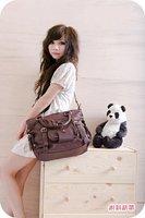 2012 New Fashion leisure lady bag woman casual PU handbag lady Girl shoulder bag