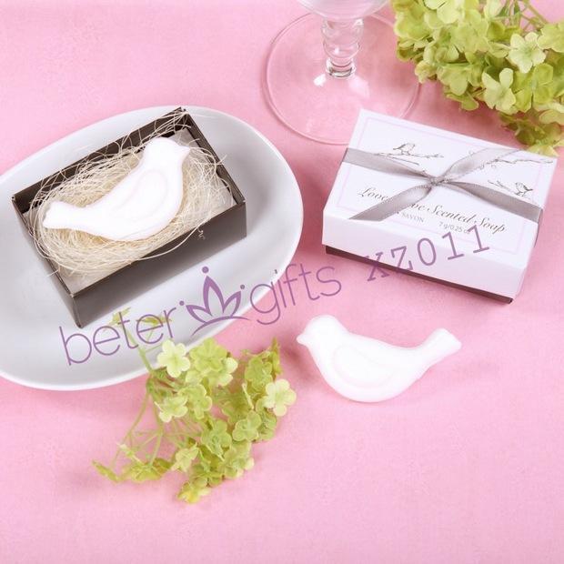 wedding return gift ideas love dove soap favor