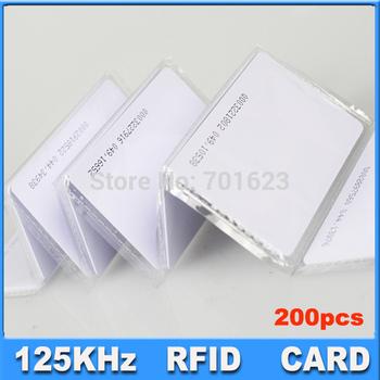 Hotsales Proximity EM ID thin Card MANGO Plastic Proximity EM ID 125KHz Smart Card