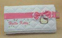 Japan Lovely HELLO KITTY purse bowknot cartoon women's long purse