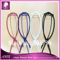 Hot sale Plastic  wig stand/Wig Holder/wig stand holder