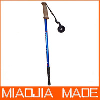 Free shipping for DHL 60pcs/lot R01 Factory Price three Joint Alpenstock Walking Sticks Hiking Pole Alpenstock Best Sale 301MJ