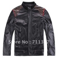 Freeshipping! New Fashion men's genuine leather jacket cow leather men clothes EX-N1103